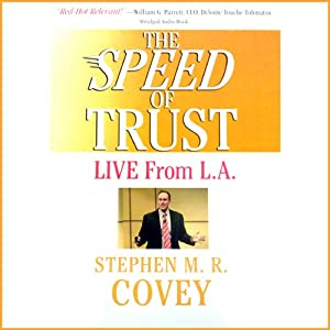 The Speed of Trust Speech