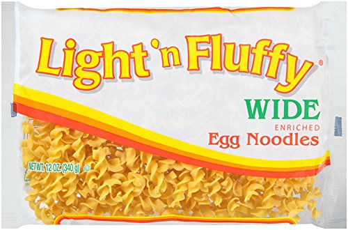 Light 'N Fluffy Wide Egg Noodles, 12 oz (Pasta Dried)