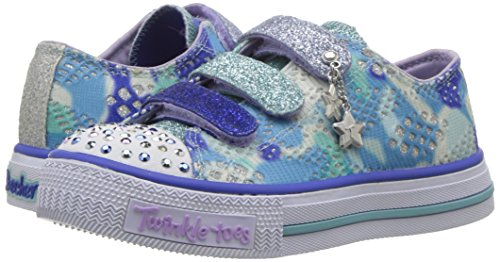 Pictures of Skechers Kids Kids' Shuffles-Lookin Lovely Sneakerblue/ 10760L 4