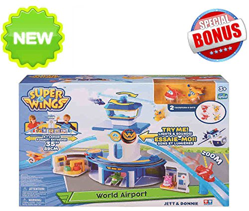 Super Wings - Pack \'N Go New York Playset - Super Wings Toys