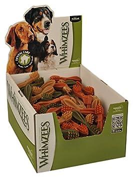 WHIMZEES Estrella, cepillos de Dientes, tamaño Mediano, 75 Piezas: Amazon.es: Productos para mascotas