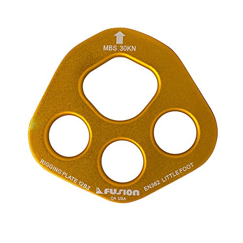 m Little Foot 4 Hole Rigging Plate (Pmi Rescue Equipment)