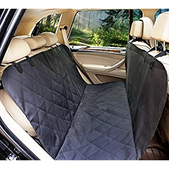 LePet Dog Car Seat Covers Pet Cover For Cars Waterproof Scratch Proof And Anti Slip Backing Padded Quilted Durable 4 Layers Machine Washable