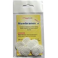 NEW Membranes for Medela Breastpump 8-pk Part # 87088, PIS