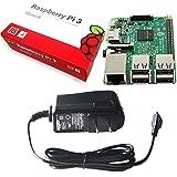 Raspberry Pi 3 MODEL B 【RS正規流通品】 + Pi3 用 5V 2.5A 電源 セット