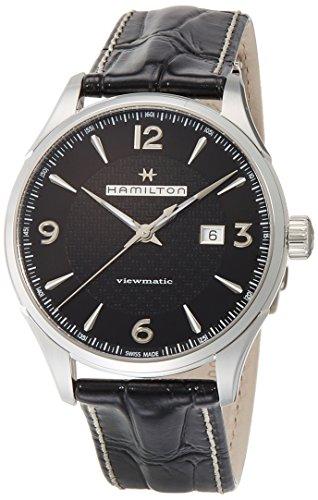 Hamilton JazzMaster Viewmatic Auto Black Mens Watch - 51aTuft5CkL - Hamilton JazzMaster Viewmatic Auto Black Mens Watch