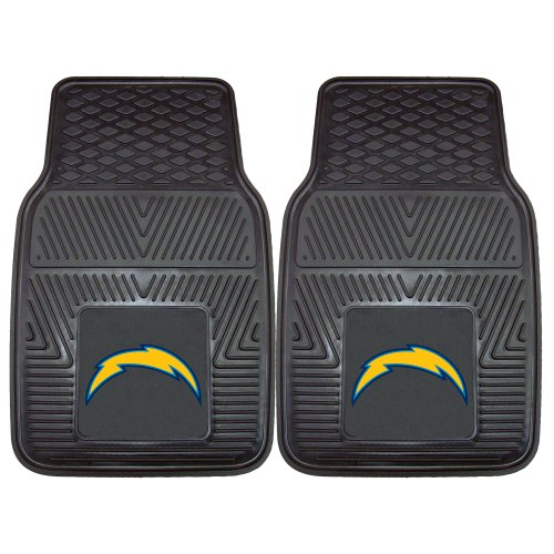 - FANMATS NFL San Diego Chargers Vinyl Heavy Duty Car Mat