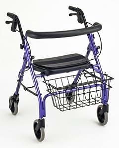 "NOVA Medical Products ""Cruiser Deluxe"" 4207 Junior Walker, Purple"