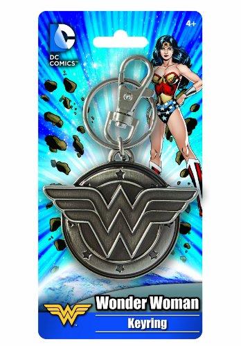 (DC Wonder Woman Pewter Key Ring)