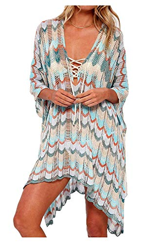 - HARHAY Women's Summer Swimsuit Bikini Beach Swimwear Cover up Multicolor 4