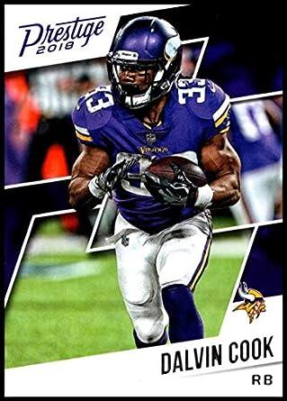88d48a229 2018 Prestige NFL #113 Dalvin Cook Minnesota Vikings Panini Football Card
