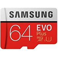 Samsung EVO Plus 64GB microSDXC UHS-I U1 100MB/s Full HD Hafıza Kartı with Adapter (MB-MC64HA)