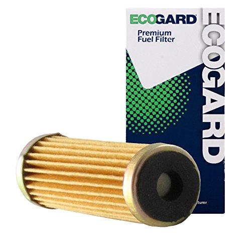 ECOGARD XF10158 Engine Fuel Filter - Premium Replacement Fits Chevrolet C10, K10, Corvette, Monte Carlo, Camaro, El Camino, Caprice, S10, P30, C20, C30, K5 Blazer, K20, G10, G30, K30, G20, (Chevrolet Cavalier Fuel Economy)