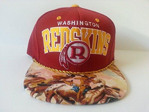 201974bfe Mitchell and Ness NFL Washington Redskins Custom Snapback Cap