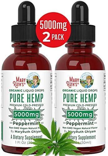 Organic Extract 5000mg MaryRuths Stress