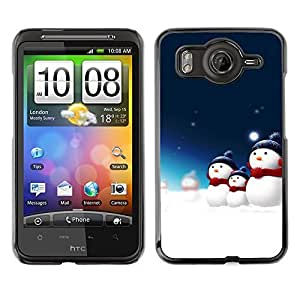 YOYO Slim PC / Aluminium Case Cover Armor Shell Portection //Christmas Holiday Santa Claus Holiday 1051 //HTC G10