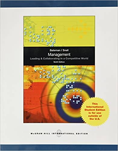 Management leading and collaborating in the competitive world management leading and collaborating in the competitive world thomas s bateman 9780071220620 amazon books fandeluxe Choice Image