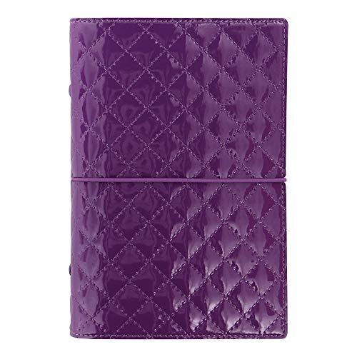 Filofax 2019 Personal Organizer, Domino Luxe Purple, 6.75 x 3.75 inches (C027989-19)