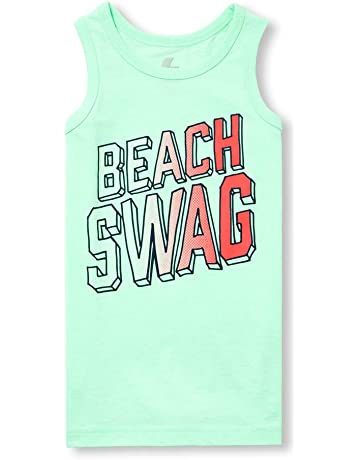 697c4401b The Children's Place Boys' Big' Sleeveless Graphic Tank Top