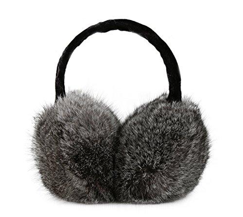 Winter Cute Panda Earmuff Ear Muff Warmer-White - 6