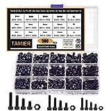 Tamier 500PCS M3/M4/M5 Alloy Steel Socket Cap Screws Hex Head Bolt Nuts Assortment Kit