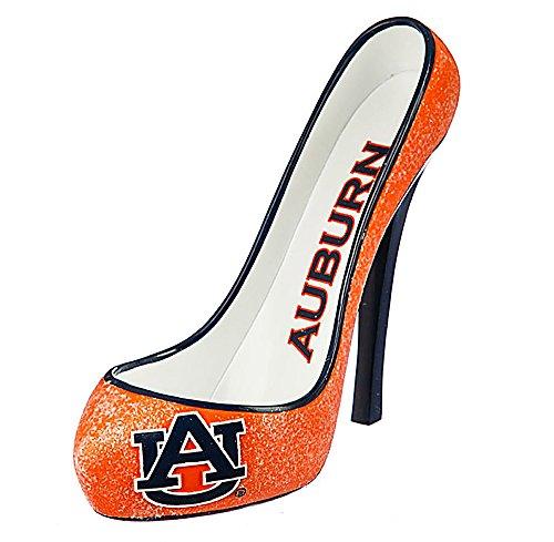 NCAA/NFL Shoe Wine Bottle Holder (Auburn Tigers (Tigers Glitter Gear)