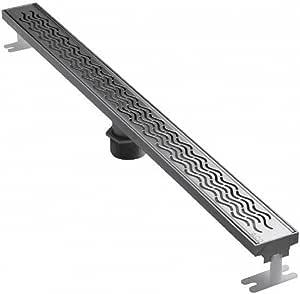 ACO 37241 Quartz Plus 3-Feet Wavy Grate Design