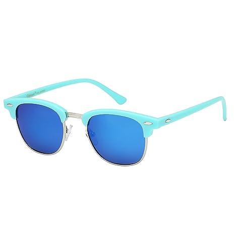 7569be29dd Polarspex Unisex Retro Classic Stylish Malcom Half Frame Polarized  Sunglasses  Amazon.ca  Clothing   Accessories