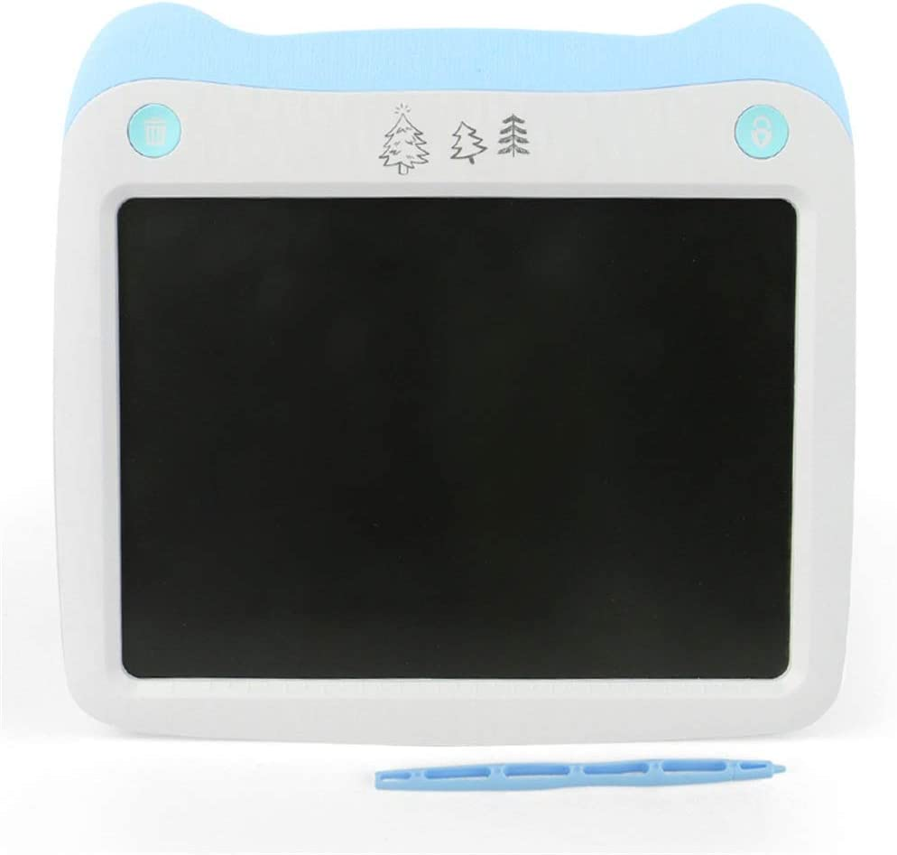 Color : Blue , Size : 10 inches Computer Graphics Tablets Business Office Record Board 3 Pcs 10 Inch LCD Tablet Smart Childrens Tablet Painting Board For Kids And Adults At Home School And Office