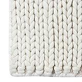 Wool Area Rug 5x8 ft Handmade Woven Rectangle