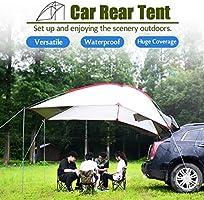 Vehipa - Tienda de campaña portátil Ligera para SUV, multifunción, Impermeable, para Remolque, toldo, Refugio Solar para Coche, Tienda de campaña, Coche/SUV/Camping/Playa/MPV/Minivan: Amazon.es: Deportes y aire libre