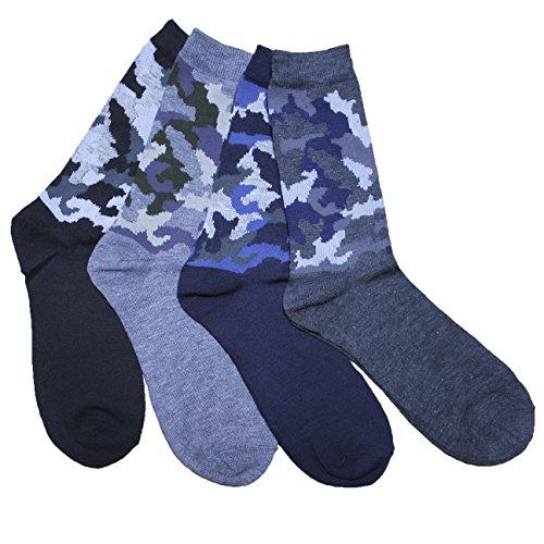 FERETI Chaussettes Hommes Militaire Camouflé Urban Camouflage Cam Jungle Style D'hiver Classique 3