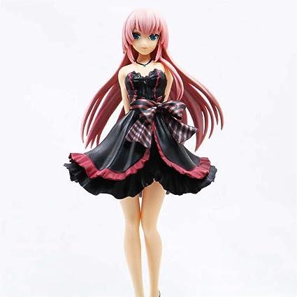 Vocaloid Megurine Luka Bunny Girl Ver Poker Miku Figure Figurine Statue No Box