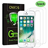 3 Pack- Glass Screen Protector for iPhone 5S / 5 / 5C / SE