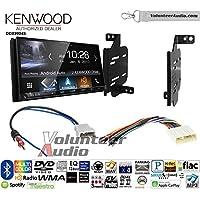 Volunteer Audio Kenwood DDX9904S Double Din Radio Install Kit with Apple CarPlay Android Auto Bluetooth Fits 2011-2014 Nissan Juke