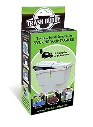 Amazon Com Trash Buddy Dog Proof Trash Can Lid The