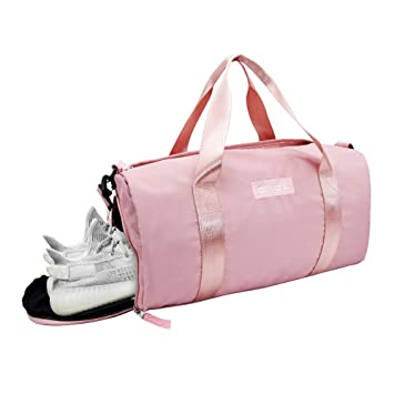 ec92084b69a Image Unavailable. Image not available for. Color  Ativafit Women Gym Bag  with Shoes Compartment Sports ...