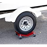 Car Dolly Moving Dollies Heavy Duty Set Premium Industrial Professional Automobile Wheel Skates Tire Shop Garage Auto Race Car Movers Storage Industrial Cart 10,000# Capacity for Set Of (4) HD 8x16