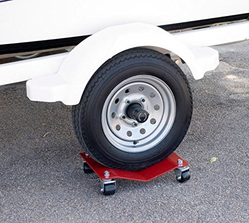 Car Dolly Moving Dollies Heavy Duty Set Premium Industrial Professional Automobile Wheel Skates Tire Shop Garage Auto Race Car Movers Storage Industrial Cart 10,000# Capacity for Set Of (4) HD 8x16 by Autodolly