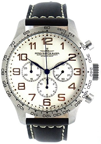 Zeno-Watch Mens Watch - OS Tachymeter Retro Chronograph 2020 - 8559TH-3T-f2