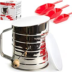 Flour Sifter Stainless Steel 3