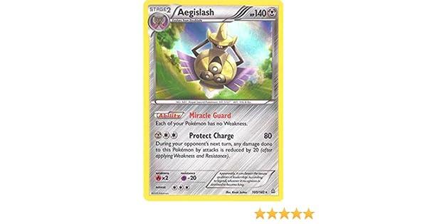 Pokemon - Aegislash (100/160) - XY Primal Clash - Holo