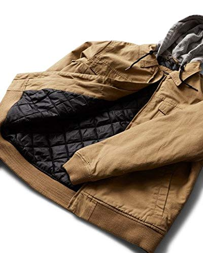 Billabong Men's Barlow Twill Jacket Gum Large ()