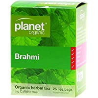 Planet Organic Brahmi Herbal 25 Tea Bags, 28 g