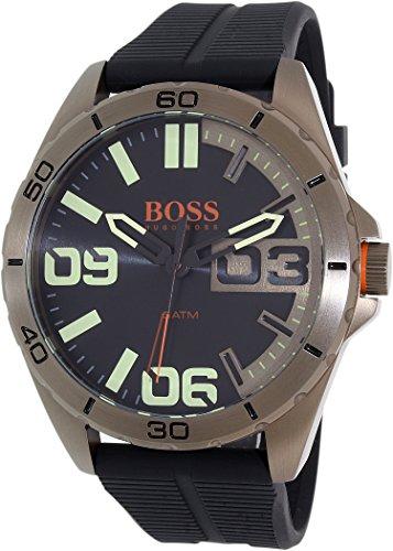 Hugo Boss Orange 1513287 Stainless Steel Case Black Rubber Mineral Men's Watch