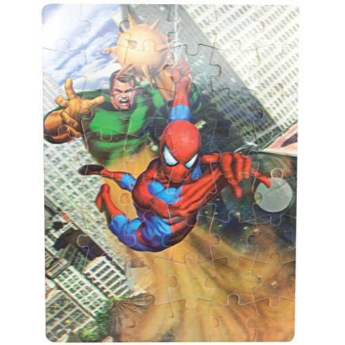 Spider-Man - Swing 48-Piece Holographic Puzzle
