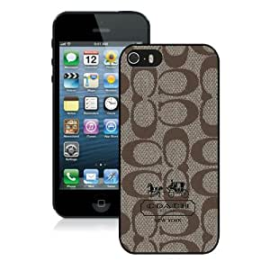 Hot Sale iPhone 5 5S Screen Case ,Coach 6 Black iPhone 5 5S Cover Unique And Popular Designed Phone Case