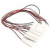 Puuli TEC1-12707 40*40mm Thermoelectric Cooler Peltier Heatsink 12V 7A 65W
