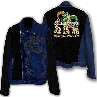 ダブルドラゴン-双截龍- ライダースジャケット (L)
