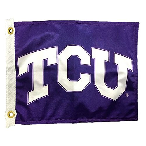 NCAA TCU Horned Frogs Golf Cart Flag, 14 x 15', Purple (Tcu Golf Horned Frogs)
